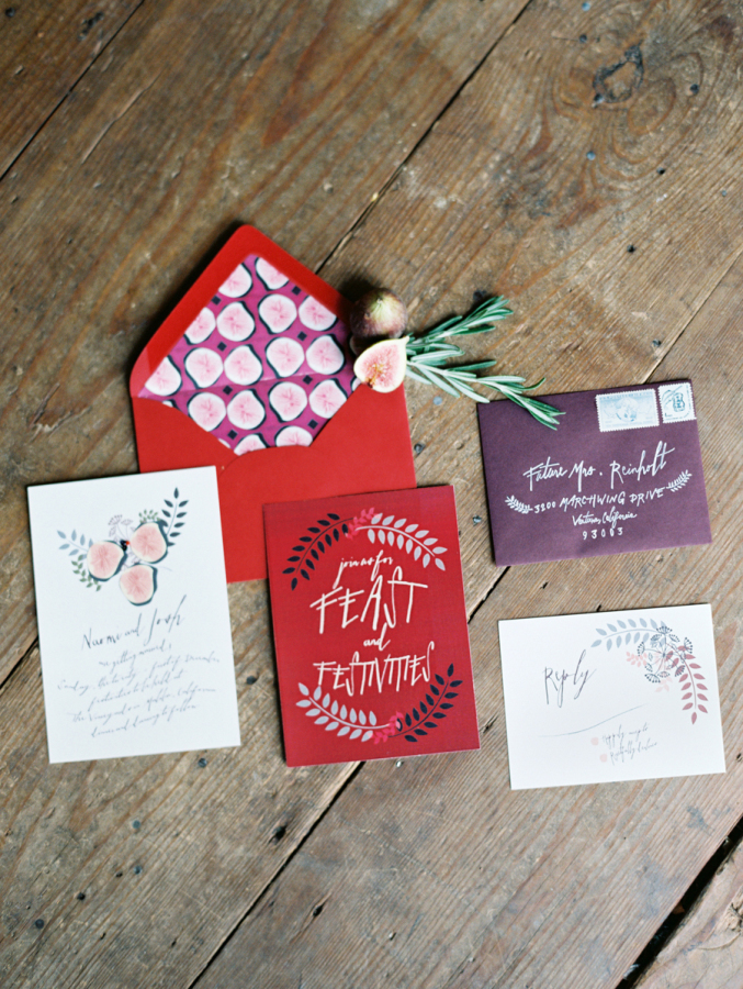 Winter Charmed Invitations