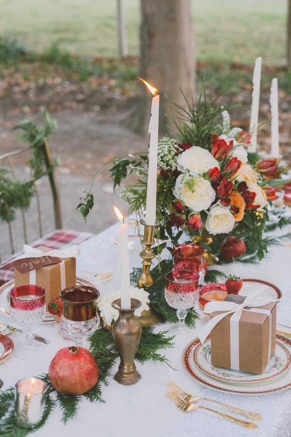 Holiday Inspired Table Settings