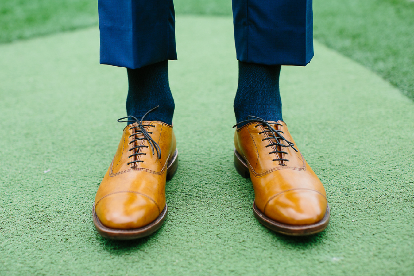 Mustard Oxford Shoes