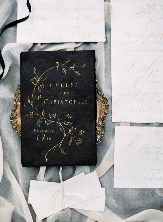 Antique Styled Inviations
