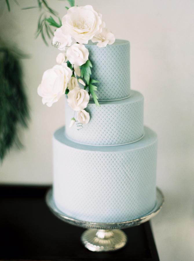 A Textured Cake