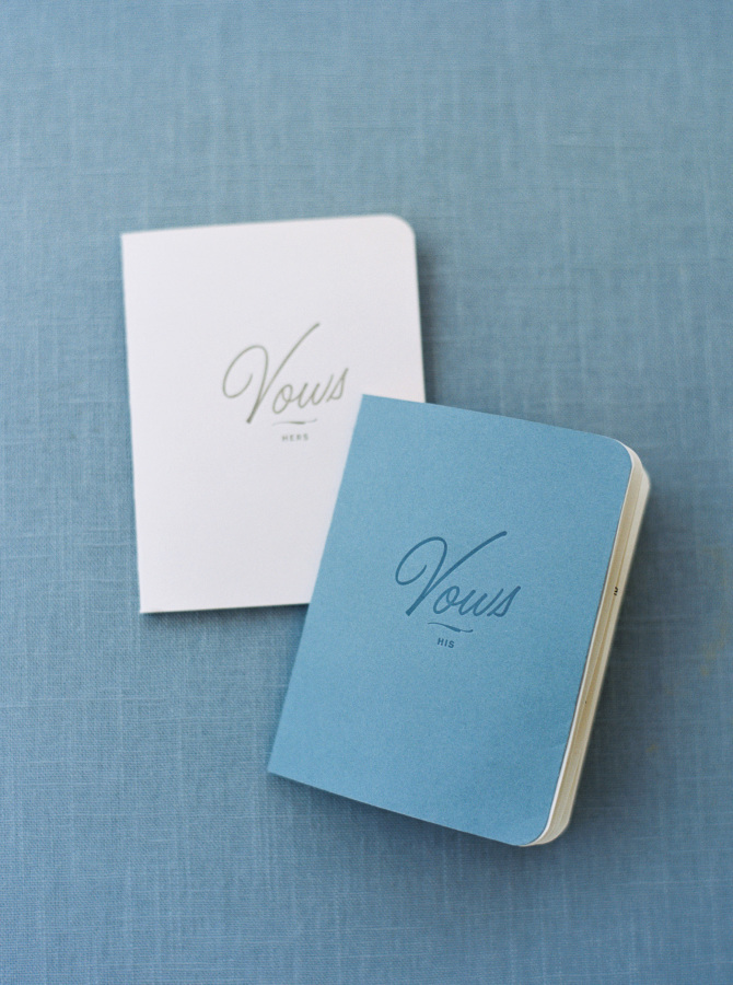 Keepsake Vow Booklets