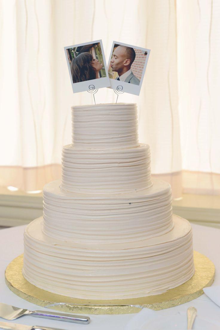 Cute minimalist cake topper