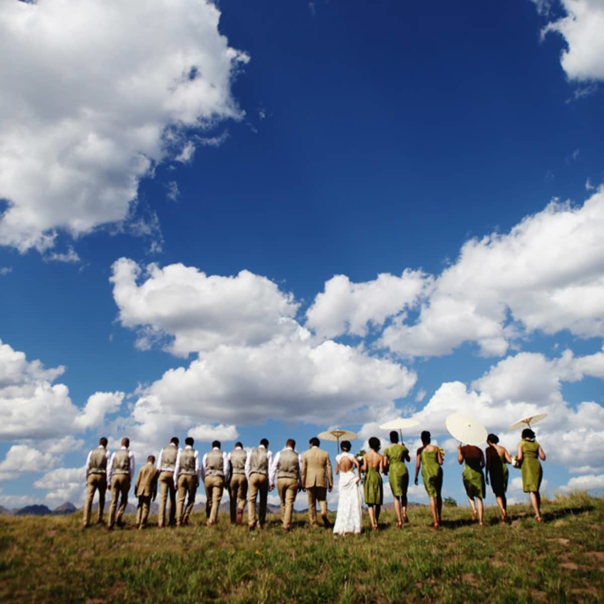Big Sky Country Bridal Party