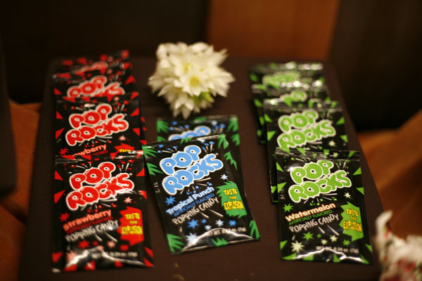 Pop Rocks treats