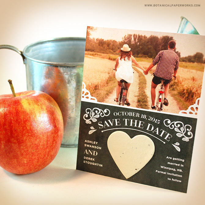 plantable save the date