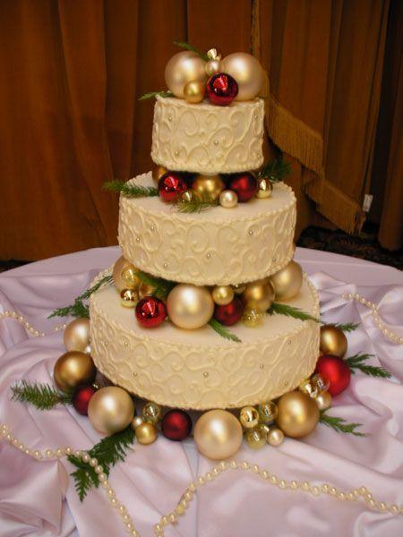 ornament cake topper