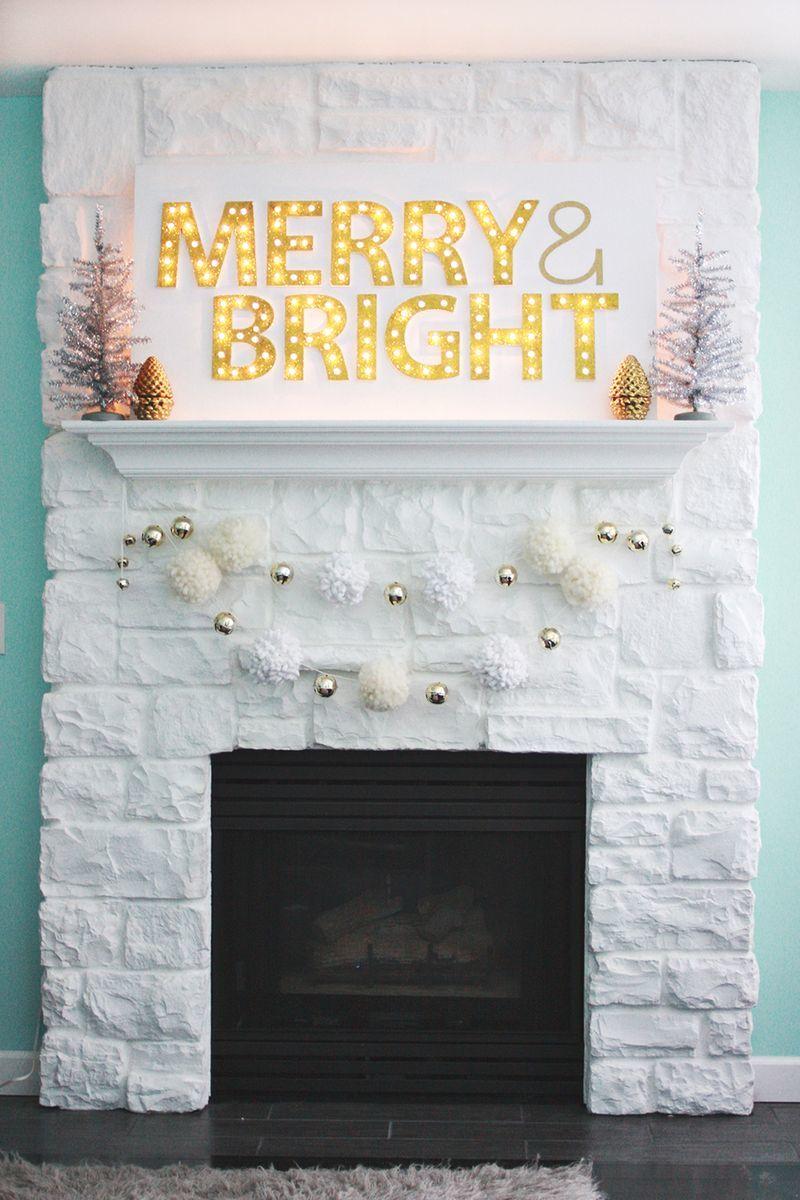 marquee light decor