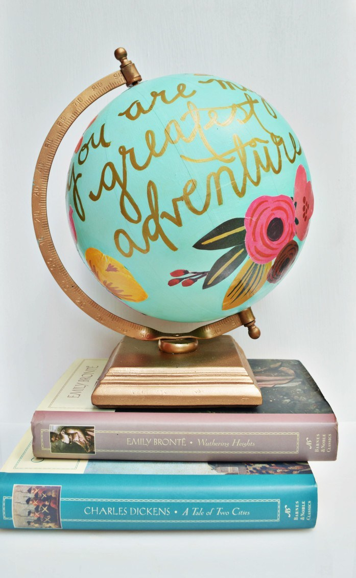 DIY Globe Centerpiece