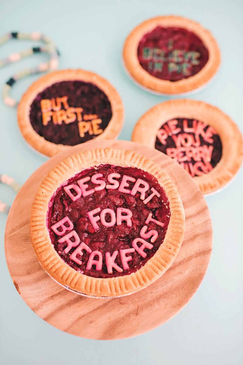 pie crust message
