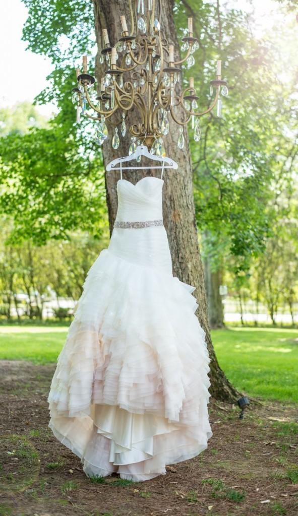 subtle ombre dress