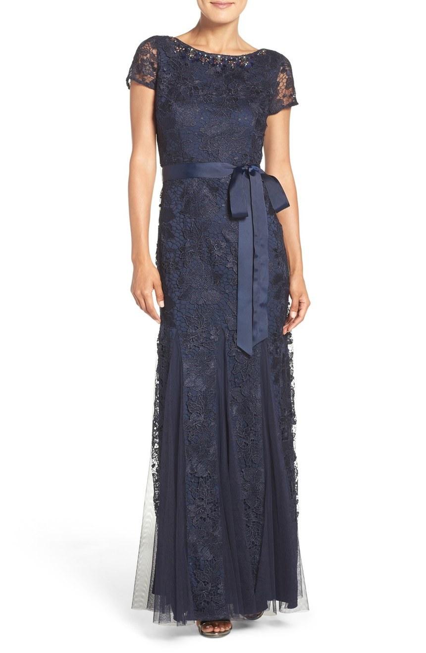 navy MOB dress