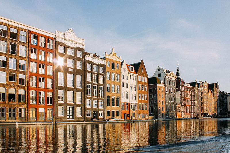 buildings in Amersterdam