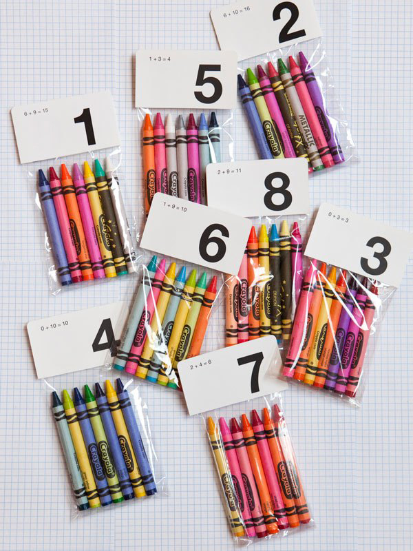 crayon table numbers