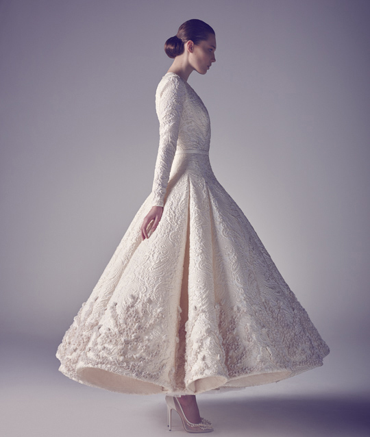 a-line wedding dress