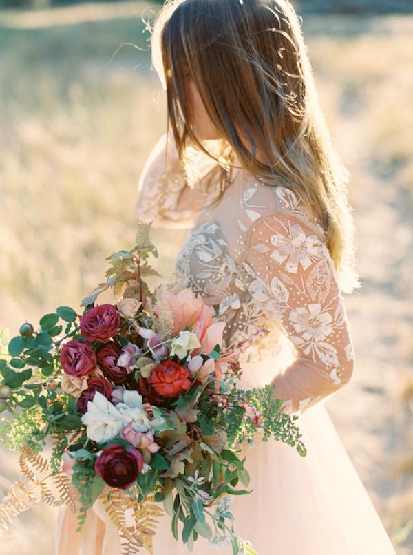 Autumn style wedding dresses