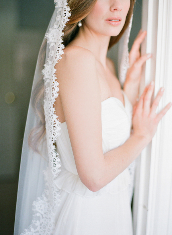 Chapel Length Mantilla Veil