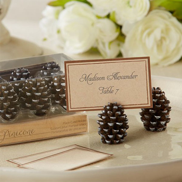 Pinecone Place Card/Photo Holders