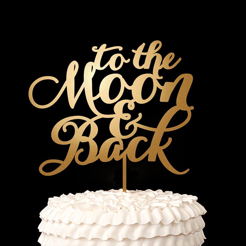 romantic cake topper