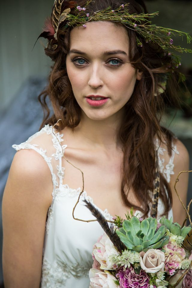 Woodland Wedding Hair by Bloglovin'