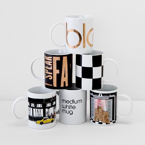 Coffee mugs from Bloomingdale's