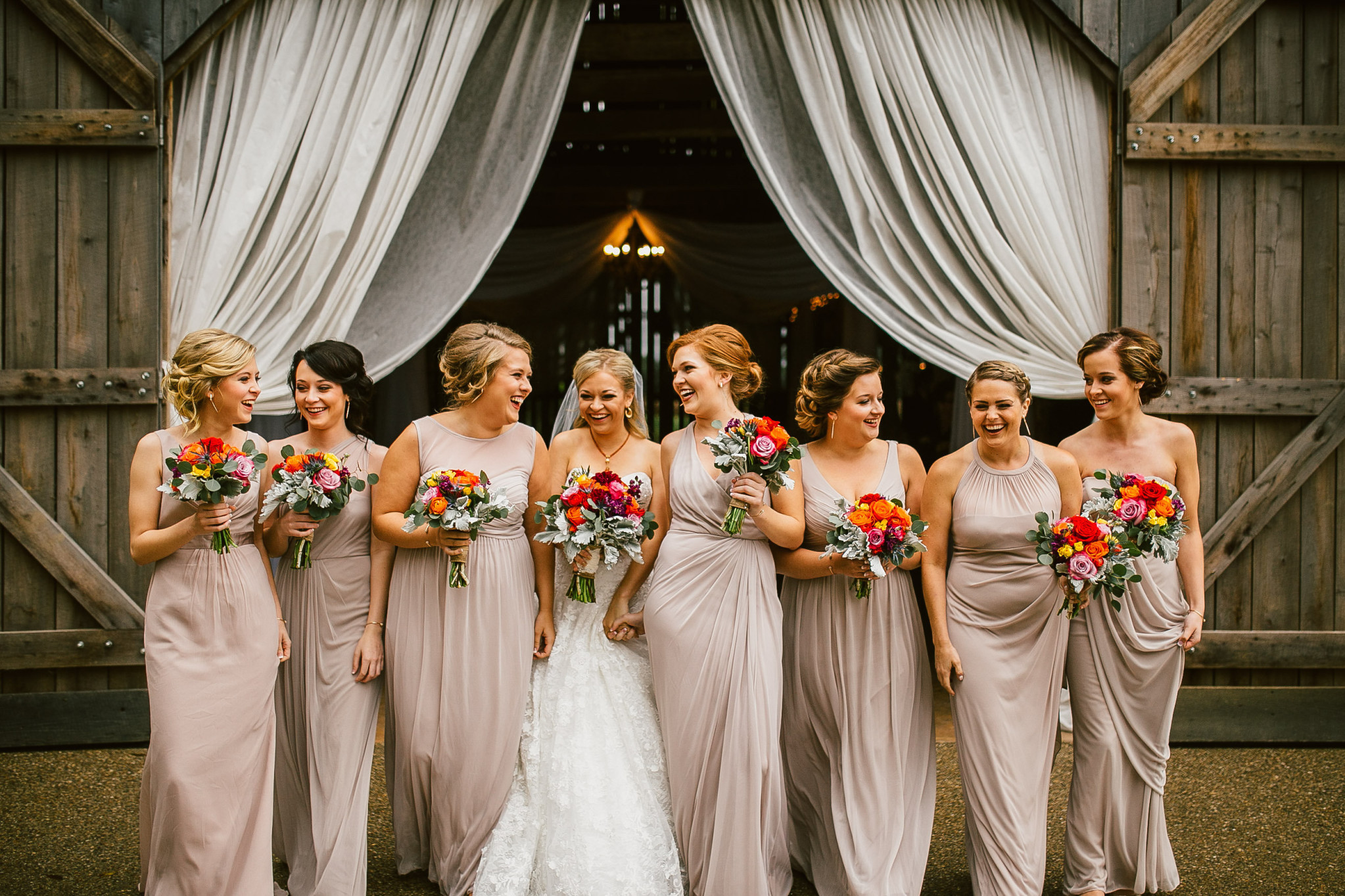 Elegant Fall Bridesmaid Dresses