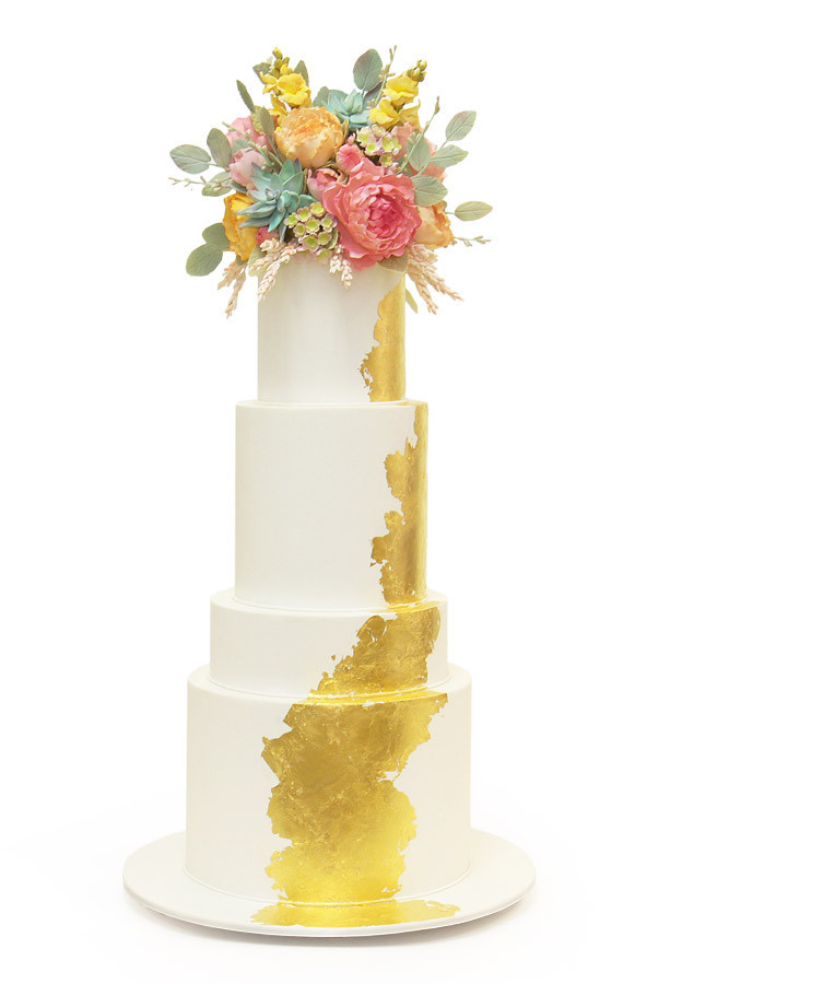 12 Seriously Stunning Floral Cake Toppers Mywedding