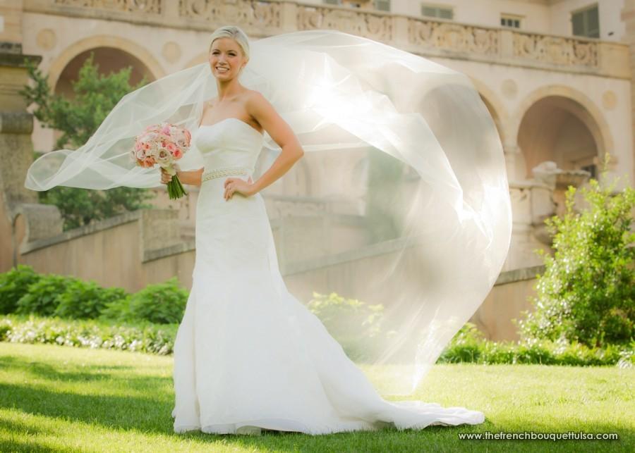 Billowing Bridal Portrait