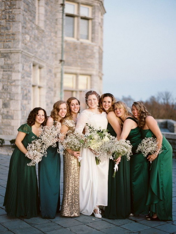 Maid of Honor Stands Out