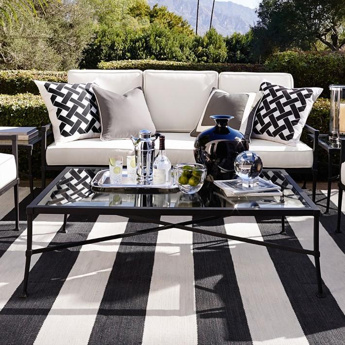 Bridgehampton Outdoor Sofa - Williams-Sonoma Wedding Registry