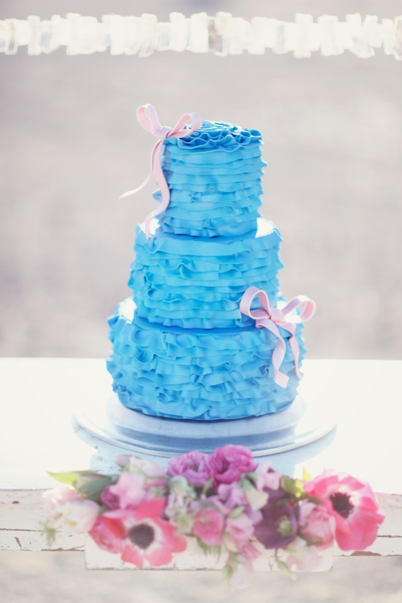 Cheerful Bright Blue