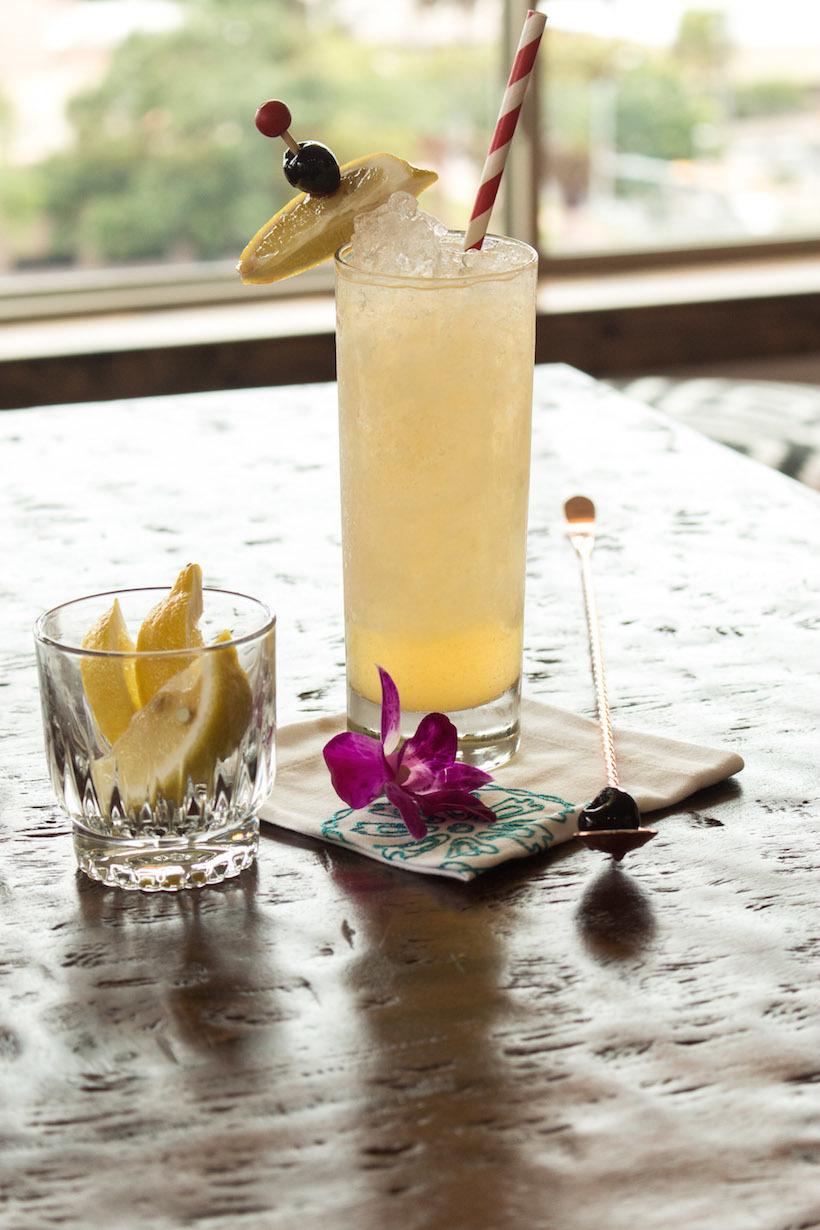gin tiki cocktail