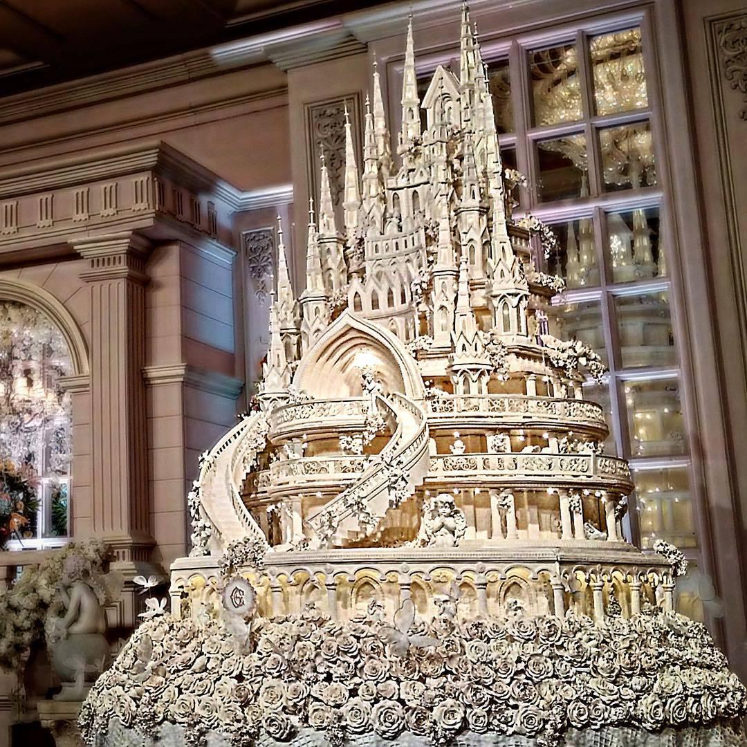 Fairytale Castle Cake