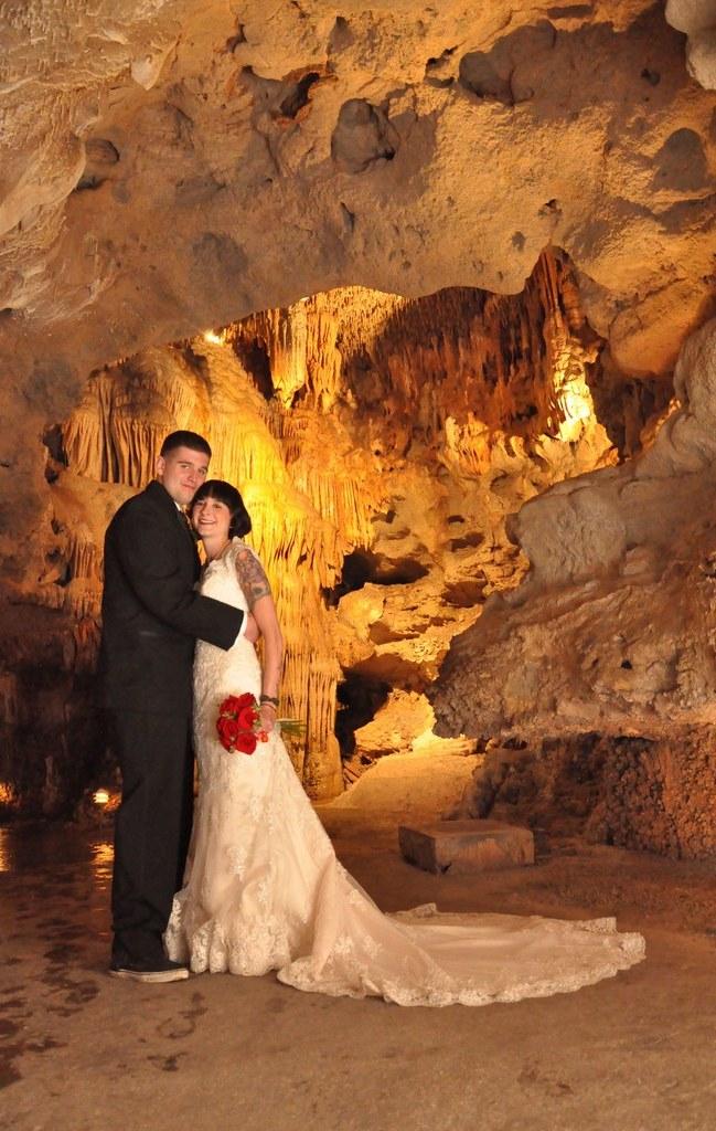 cave wedding