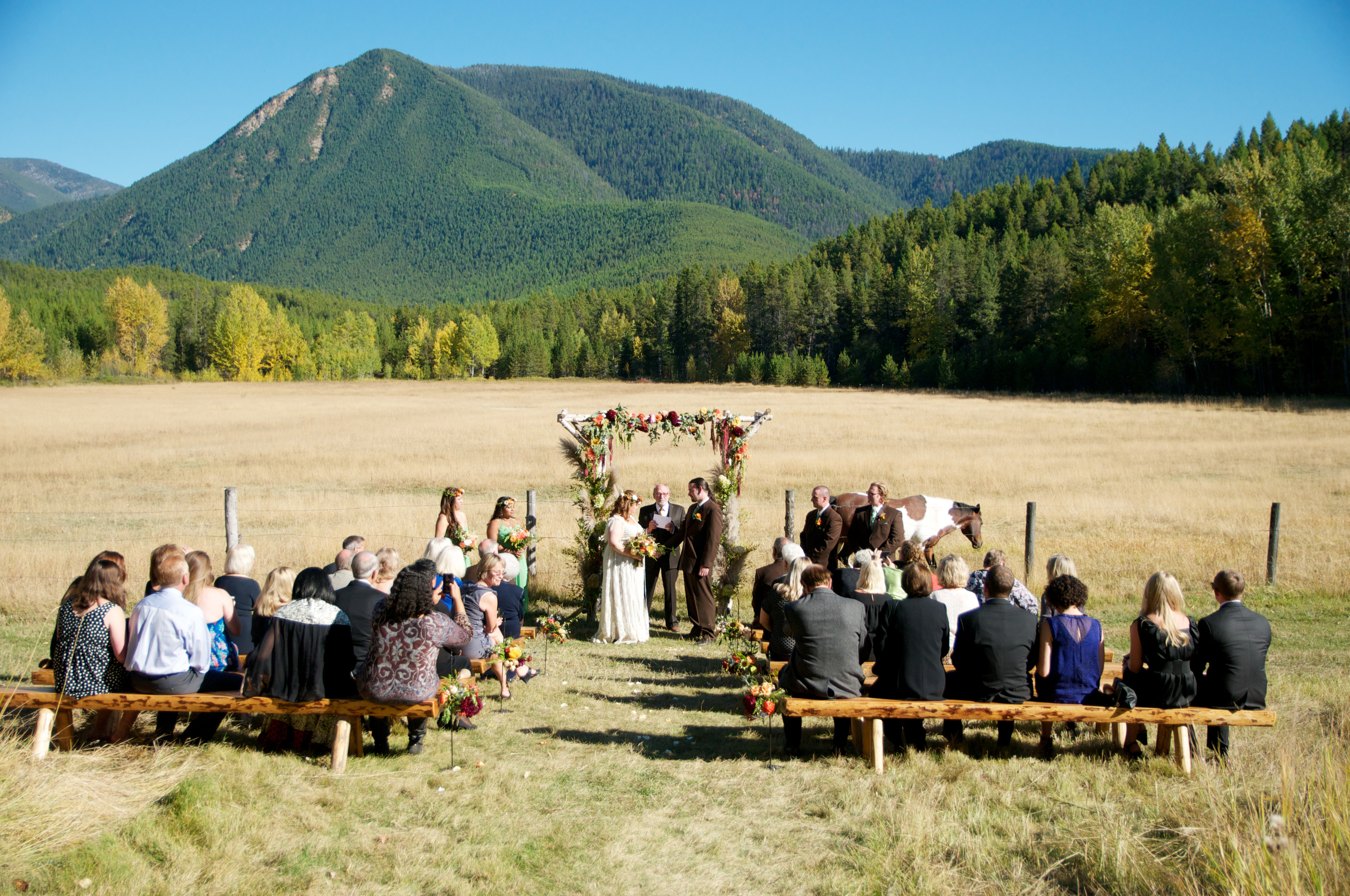 Mountain view spring ceremony