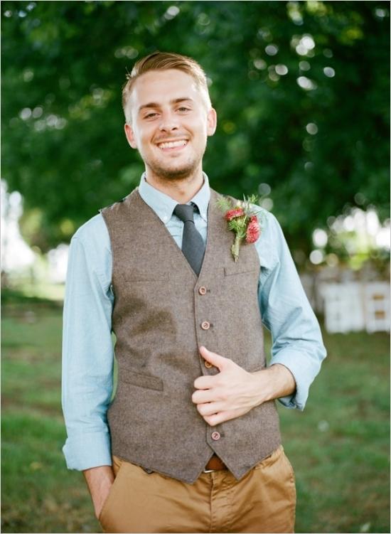 Groom Attire for a Summer Wedding