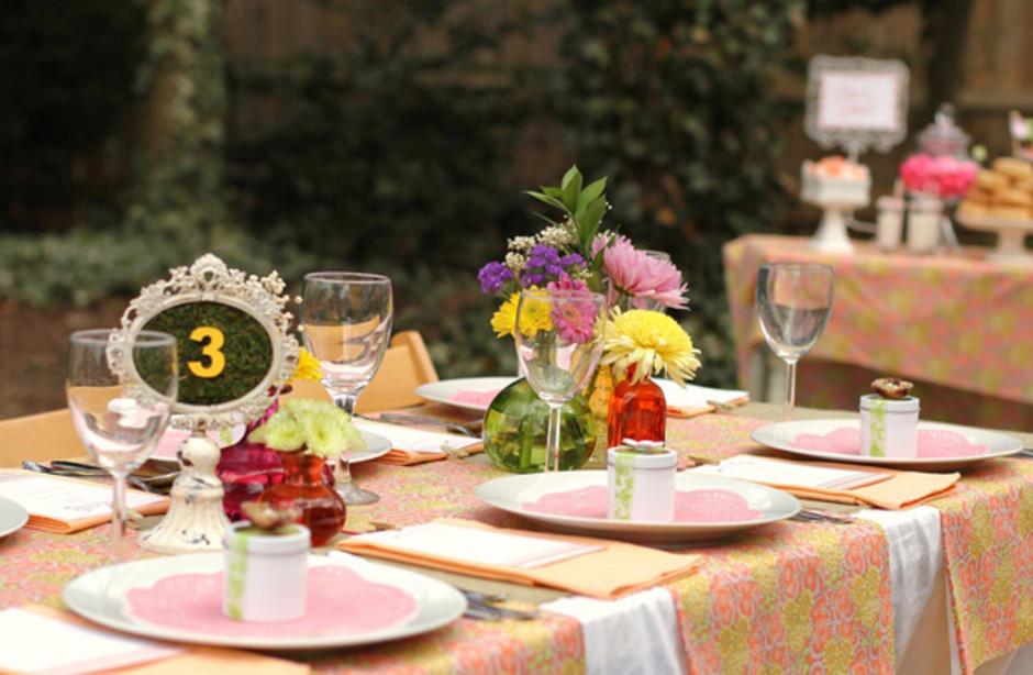 Colorful Tablewear