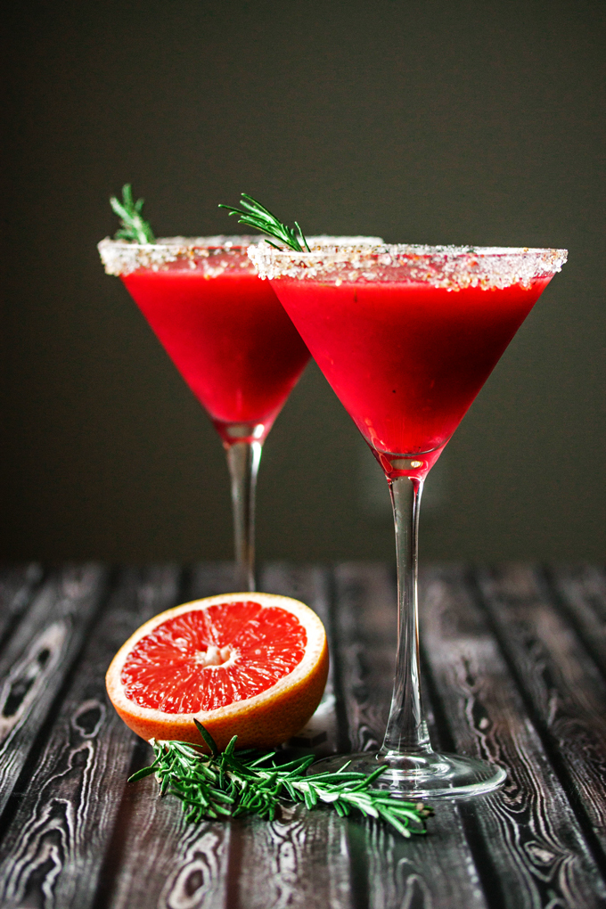 red grapefruit cocktail