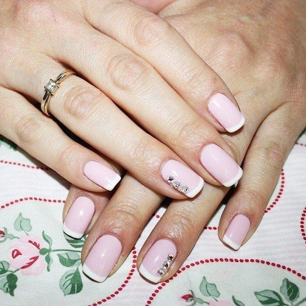 Diamante nails