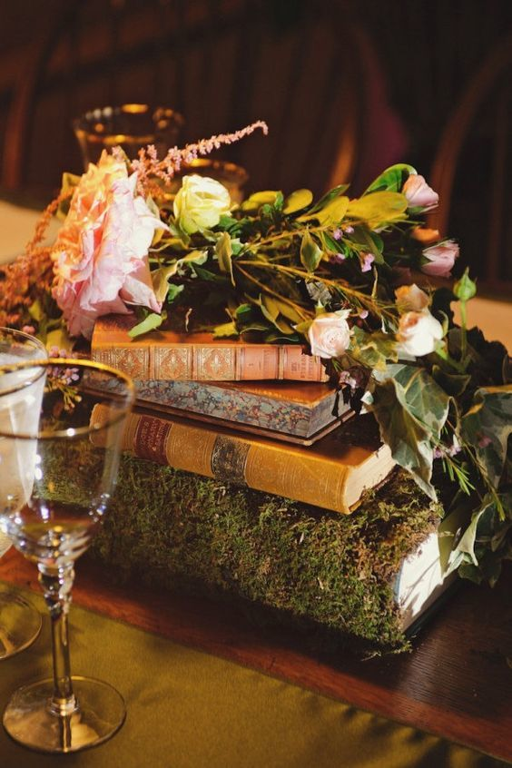 Woodland Wedding Centerpiece