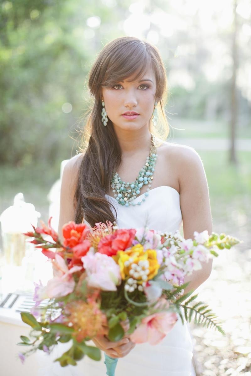bright bridal accessories