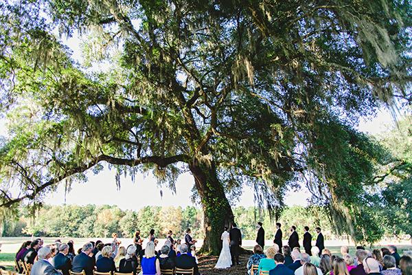 ceremony under tree