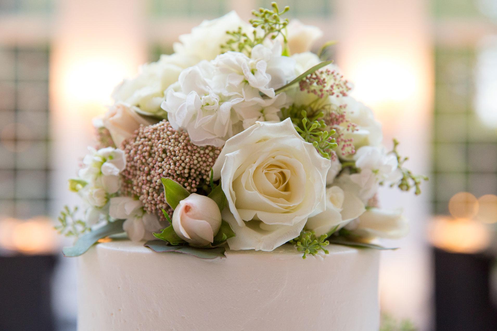 Elegant Floral Topper