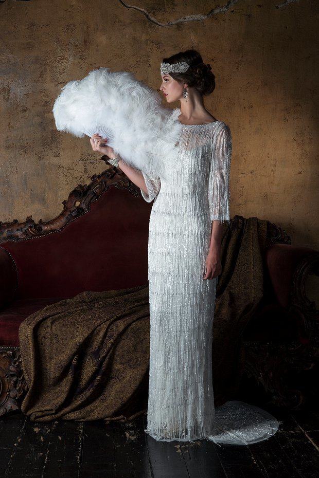 vintage formal wedding dress