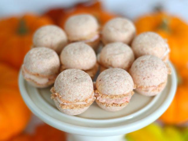 Pumpkin Spice Macaron Bath Bombs by Elle Sees