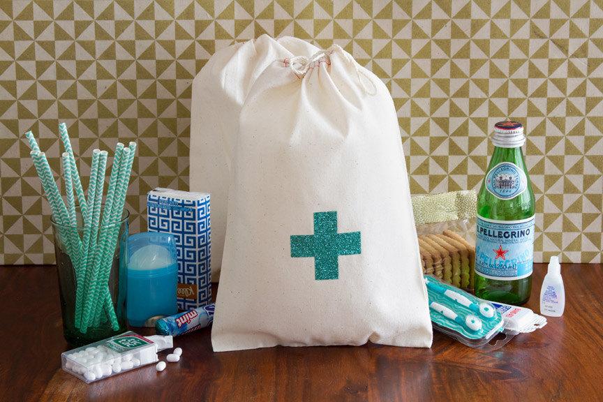 Hangover Kit Welcome Bags