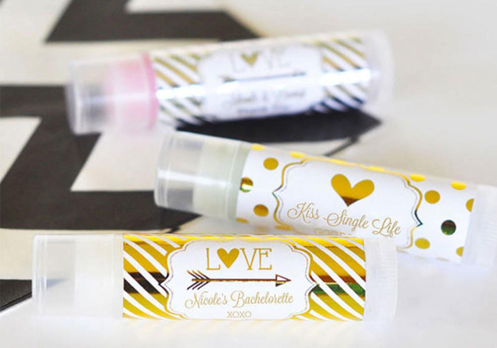 Personalized Bachelorette Lip Balm