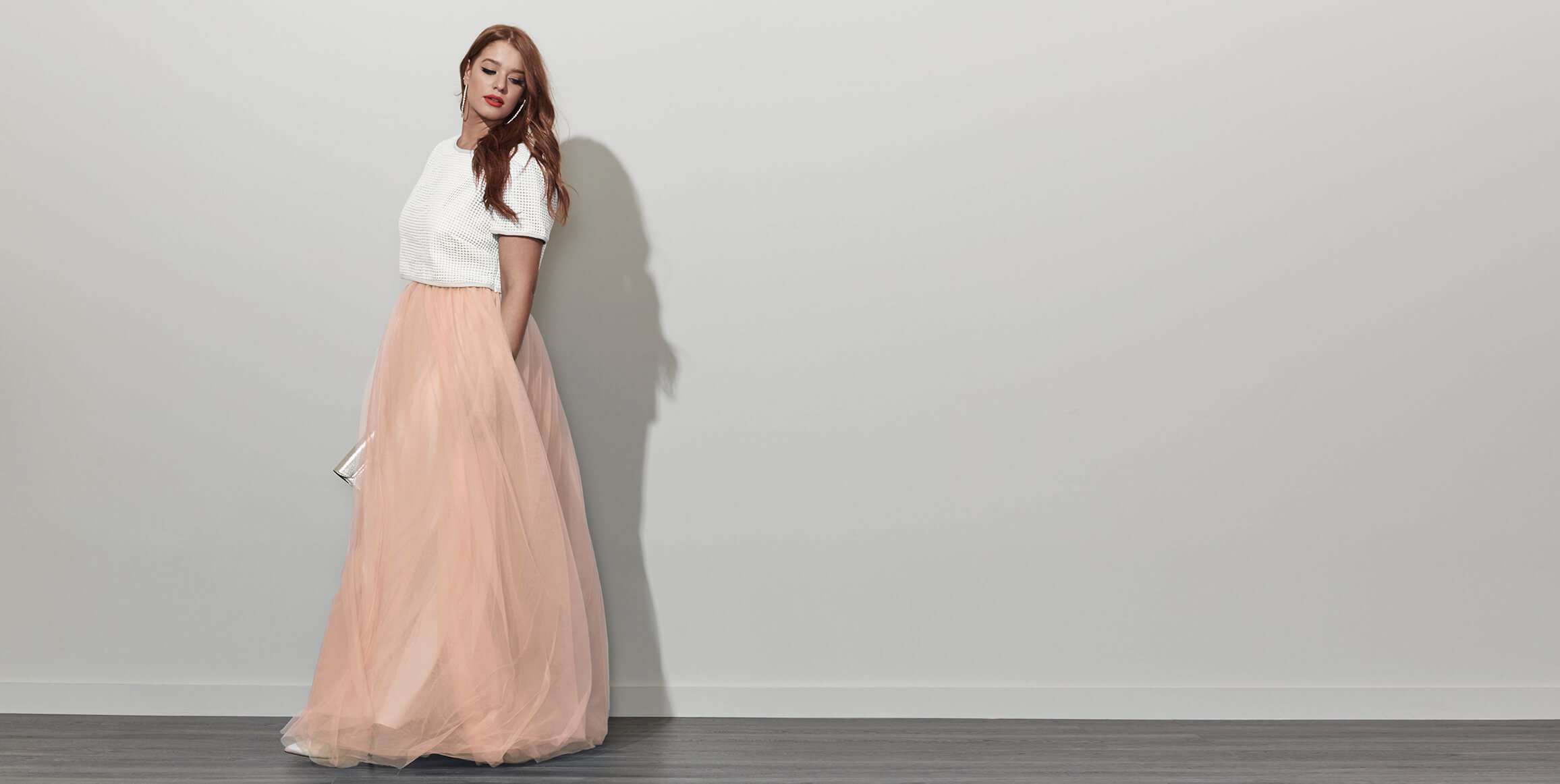 tulle plus size dress
