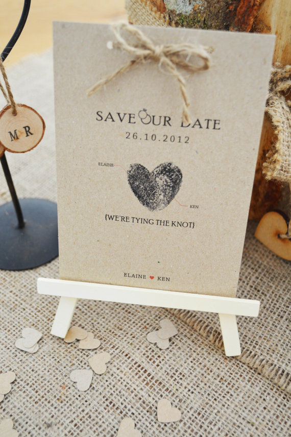 Fingerprint Save the Date