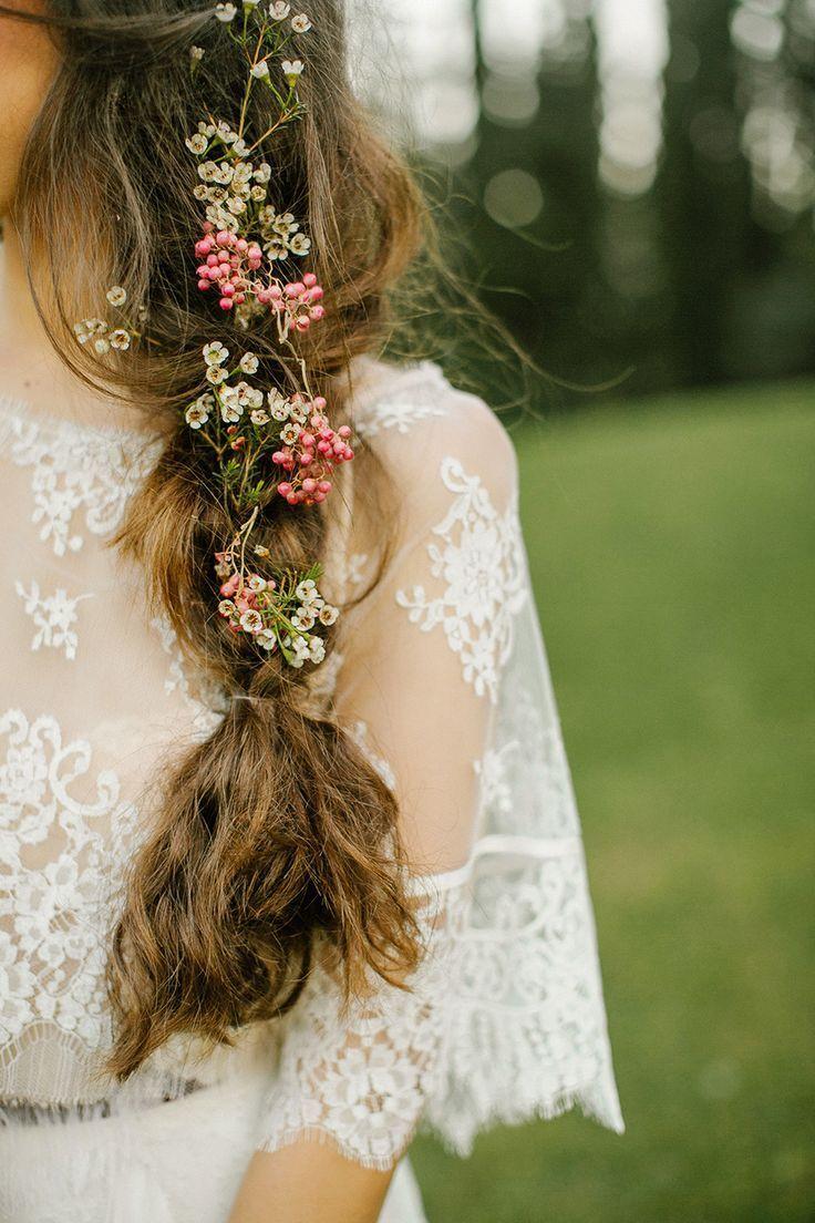 Romantic Floral Braid